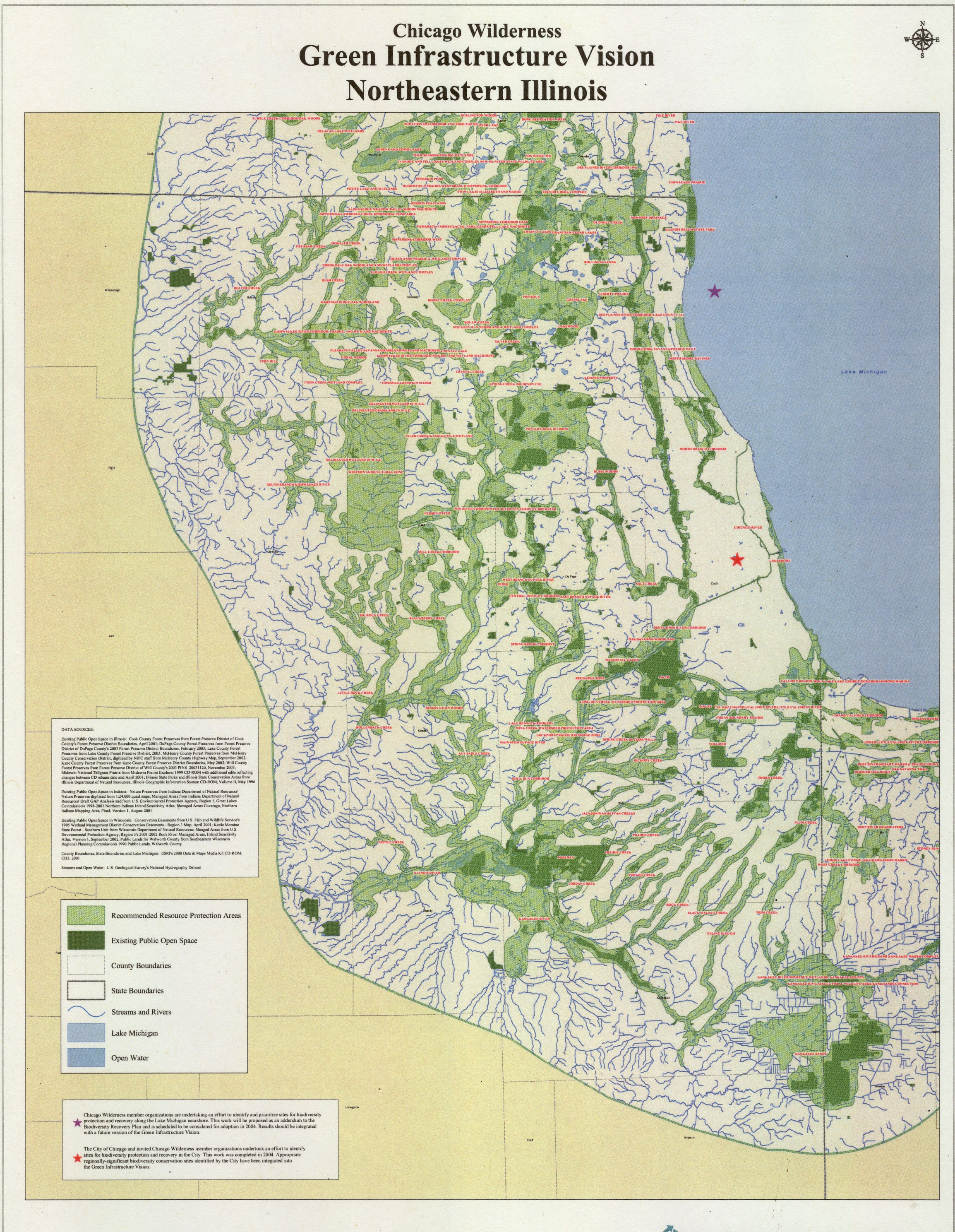 Regional Housing Initiative CMAP Chicago  Census Maps - Chicago map lake michigan