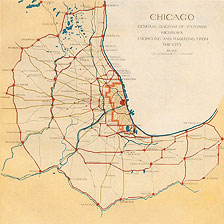 Plan of Chicago: Plate 87 (detail)