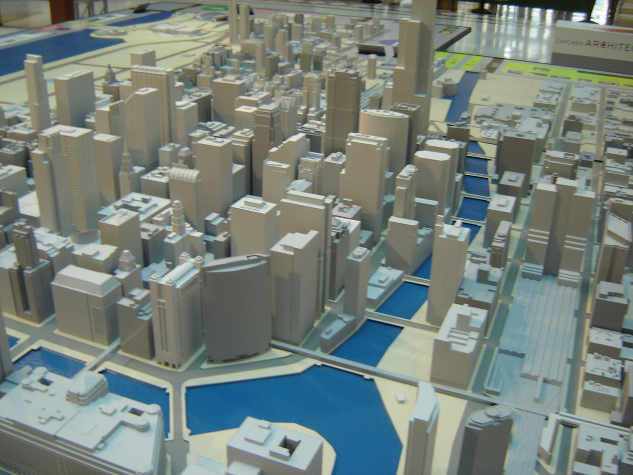 Pictures Of Toy Models Of Cities : A model city the burnham plan centennial