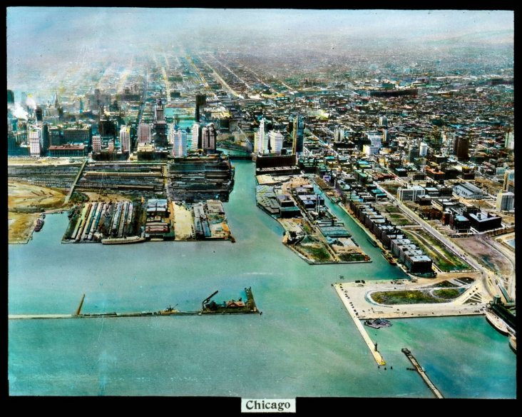 01 Chicago River Mouth Before Link Bridge No Date The