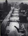Chicago River, 1941. Photograph by Andreas Feininger