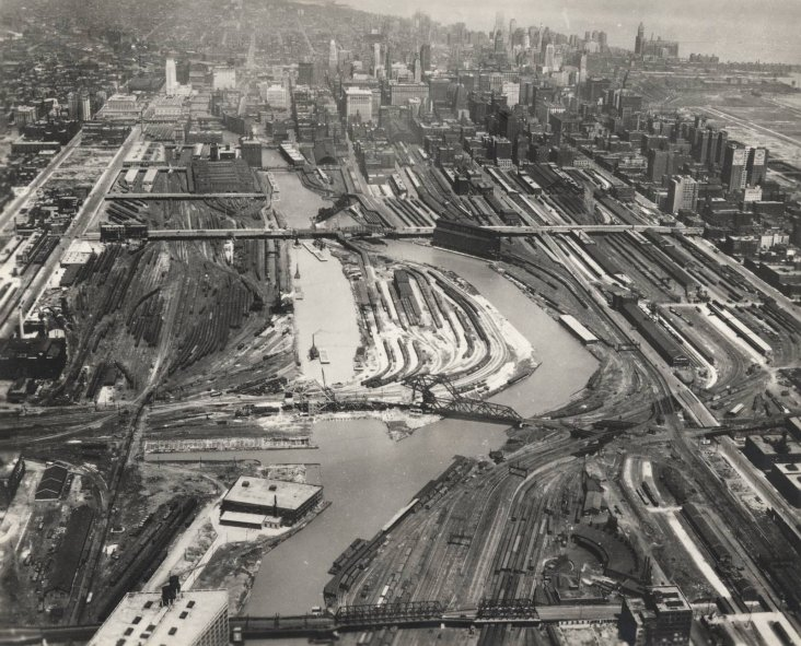 04 Chicago River South Branch Straightening In Progress