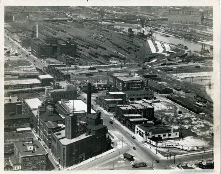 Chicago Aerial Survey Co 1929 The Burnham Plan Centennial